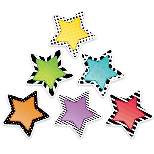"Creative Teaching Press Bold & Bright Stars Cut Outs 6"" (3360)"