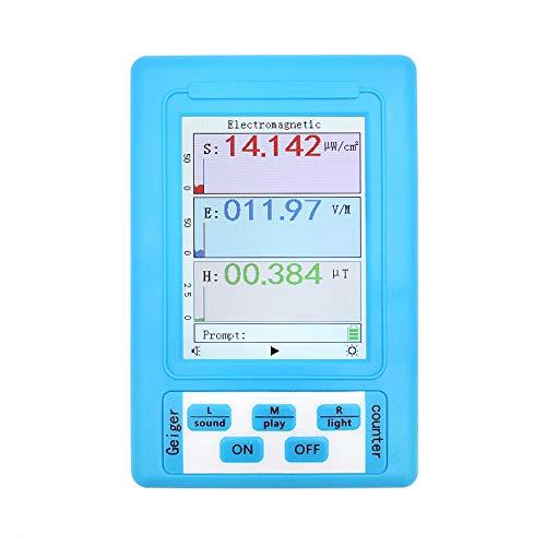 Detector de radiación electromagnética APROTII BR-9A, medidor de campos electromagnéticos, dosímetro de radiación, comprobador monitor