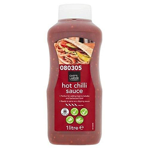 Chef\'s Larder Hot Chilli Sauce 1 Litre