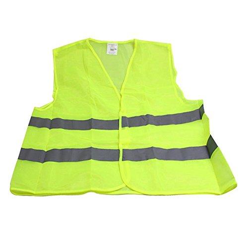 ForU-1 polyester reflecterende veiligheidsvest jas groen