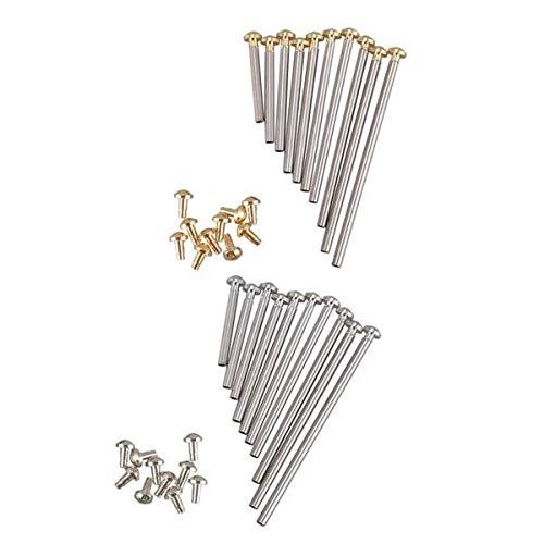Bopfimer 1 caja de herramientas de relojero para relojes de pulsera, tornillos, surtido, pasador de fricción para cierres, correas con remaches, 10 mm - 28 mm