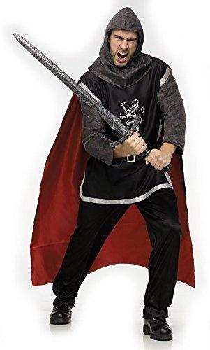 DE LUXE HOMMES chevalier médiéval historique Banquet costume déguisement Taille M