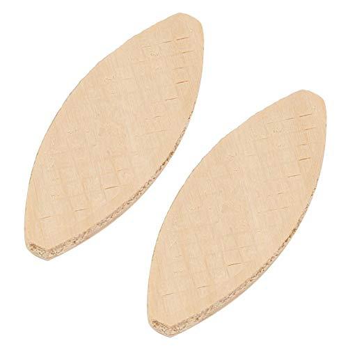 100 piezas de madera para unir galletas Herramientas de acoplamiento de tablero de madera Accesorios para carpintería 0# 10# 20#(10#)