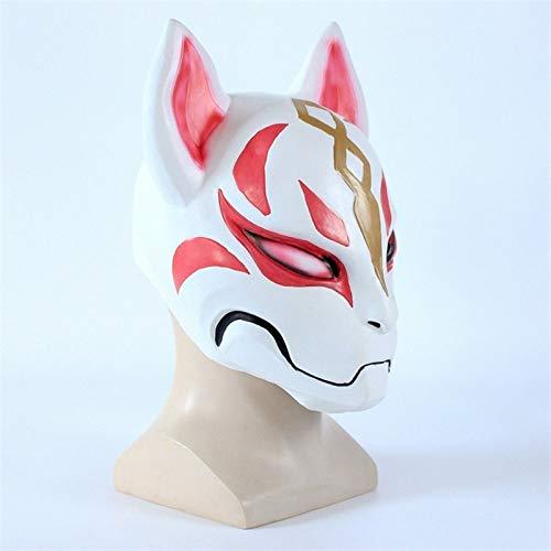 Fox Drift Cosplay Kostüme Maske Lustige Erwachsene Halloween Party Latex Masken Requisiten, 1