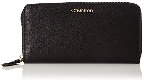 Calvin Klein Assorted Lrg Ziparound - Borse a tracolla Donna, Nero (Black), 1x1x1 cm (W x H L)