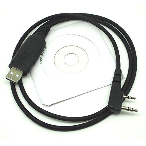 Amsamotion USB cavo di programmazione radio Kenwood TK-350tk-353tk-360tk-370tk-372373