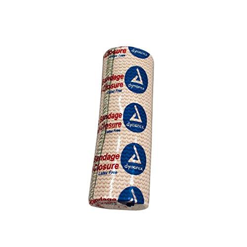 Dynarex Elastic Bandage with Self Closure Strip, 10 Count/6 x 5 Yards