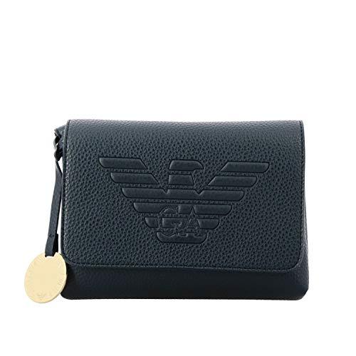 Luxury Fashion | Emporio Armani Dames Y3E148YGF8B83928 Donkerblauw Polyurethaan Schoudertassen | Herfst-winter 19