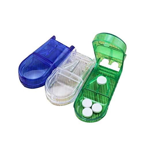 ピルカッター 薬カッター 半割 切りやすい 錠剤・薬・タブレットを2分割する錠剤カッター 携帯用