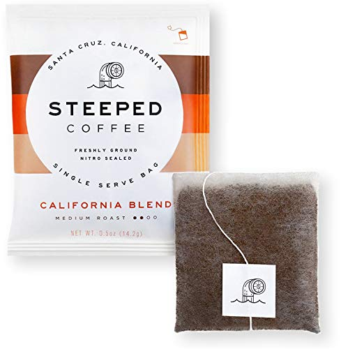 Single Serve Coffee, No Machine Required, Medium Roast, High Altitude Cauca Colombia Beans, Keto Friendly Coffee, Nitro & Ultrasonic Sealed for Freshness, Travel Size Packs, Small Batch, 8 Servings