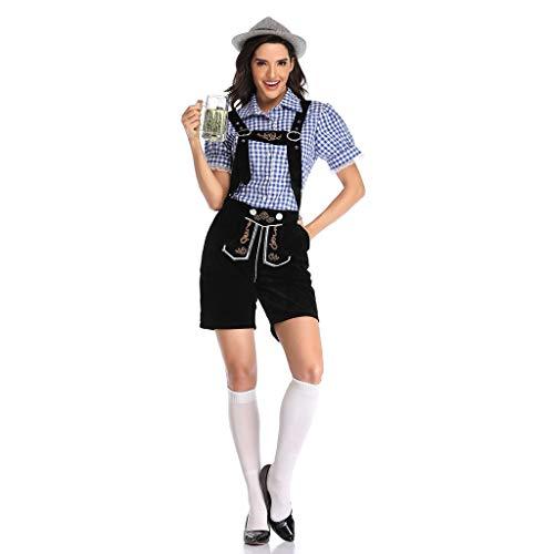 SXF-YU Duitse traditionele Oktoberfest volwassen vrouwen Suspender pak werk kleding Cosplay Halloween kostuum partij