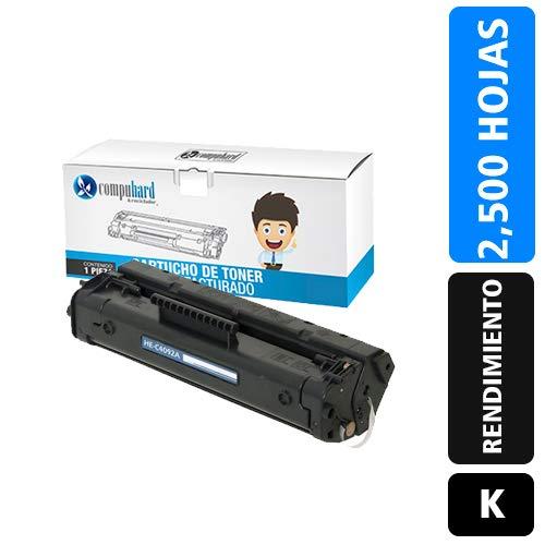 Compuhard & Reciclador Toner Compatible con HP C4092A 92A Rendimiento 2,500 Impresiones