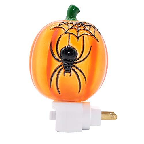 Pumpkin Spider Night Light