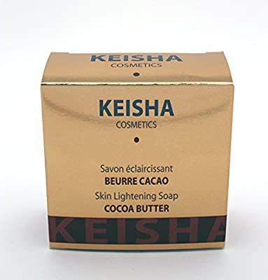 Keisha Cocoa Butter Skin Lightening & Exfoliating Soap 200g - Clearer Skin