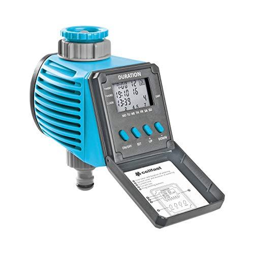 Cellfast - Bewässerungscomputer in Blau, Größe 12.5x16.5x9.5 cm