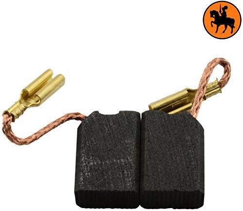 Kohlebürsten für ELU WS42EB Schleifer - 6,3x10x14mm - 2.4x3.9x5.5''