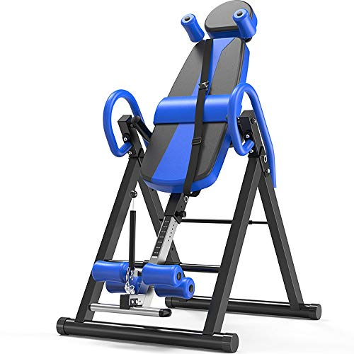 Find Cheap Indoor Fitness Exercise - Household Heavy Duty Folding Inversion Table Stretching Machine...