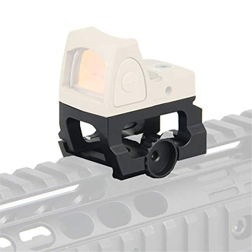 ARWIN LEAP Aimpoint Micro Berg Jagd-Bereich Riser für RMR Rotpunktvisier fit Aimpoint Micro T-2, H-2, T-1, H-1, Aimpoint CompM5, Vortex Crossfire Sparc II Sig ROME4 (H/S/T) & ROMEO5, Holosun Micro