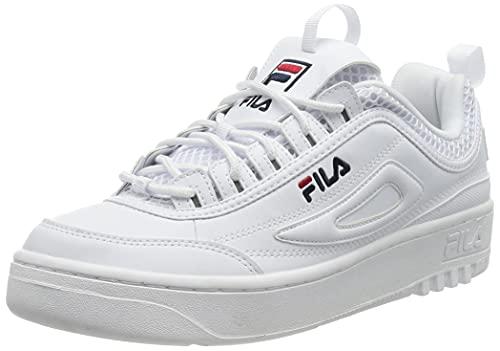 FILA FX Disruptor men zapatilla Hombre, blanco (White), 46 EU
