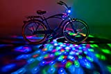 Brightz CruzinBrightz Blinking Tri-colored LED Bicycle Accessory Light, Red/Green/Blue