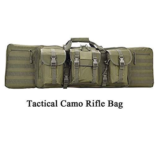 Home Arts Tactical Rifle Case Solid Stoff Verstärkter Stich Verdickte Schaum Doppel Long Rifle Bag Tactical Gun Fall Perfekt Für Die Jagd Und Schießen