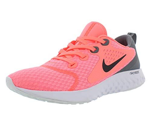 Nike Women's Legend React Running Shoes (Lava Glow/Black/Cool Grey)(6.5 (B) US)