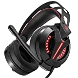 PS4 Gaming Headset Gamer Casque Best Stereo Bass Headphones with Micro