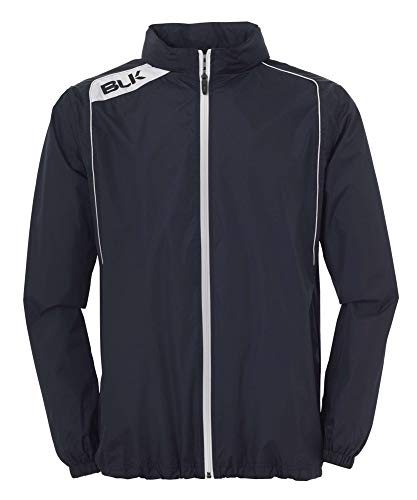 BLK Kinder Rain Jacket Bekleidung Teamsport, Marine/Weiß, 140