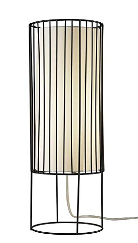 Adesso 3523-01 Vaughn Tall Table Lantern, Black