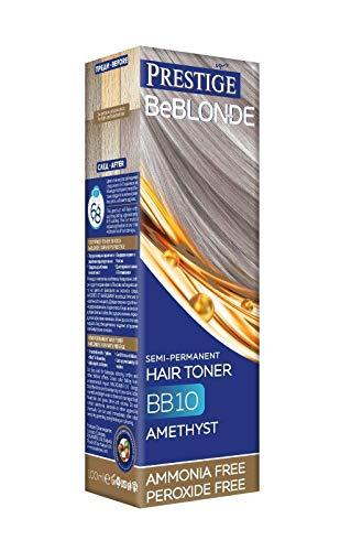 Semi-permanente haartoner Kleur BB10 Amethist, Geen Ammoniak Geen Peroxide van BeBlond