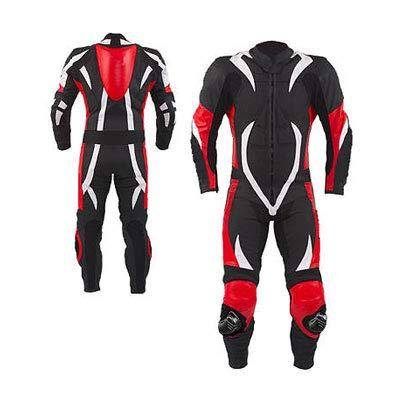 Corso Fashion Herren Motorrad Lederkombi - Motorrad Rennsport Schutzkleidung Bikerausrüstung - Maßanfertigung Style204