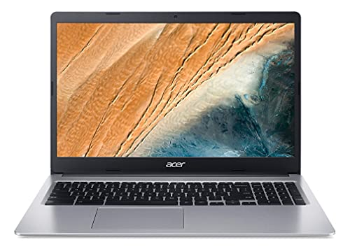 Acer Chromebook 315 CB315-3HT-P748 Ordinateur Portable Tactile 15,6'' FHD, PC Portable (Intel Pentium Silver N5000, RAM 8 Go, 128 Go eMMC, Intel UHD, Chrome OS) Clavier AZERTY (Français), Laptop Gris