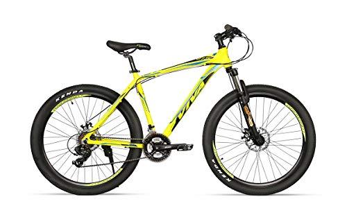 Viva Sx 5.0 26T 21 Speed Mountain Bike (Fluoro Green, Ideal For : 12+...