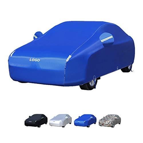 Guoguocy Autoplanen Autoabdeckung, kompatibel mit Autoabdeckung BMW 1er, verbessertes Modell 100{8ba524fd66cf6bb13eb7e0a27d7fbc298b3623fc79583b18fd3a747ab89aaf23} wasserdicht, warm halten, Frostgeschützter, Innen/Außen (Color : A, Size : 120i)