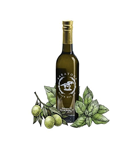 Saratoga Olive Oil Company Basil Infused Olive Oil 200ml (6.8oz)