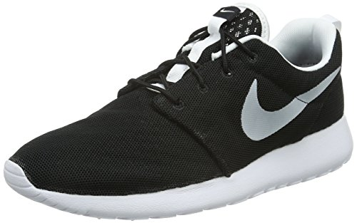 Nike Roshe One BR, Zapatillas de Deporte Hombre, Blanco (Blanco (Black/White), 42