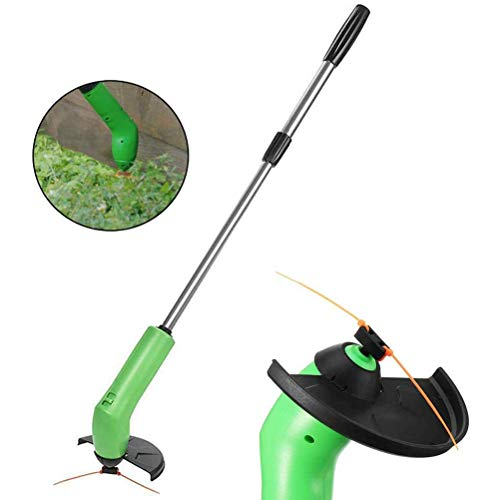 Best Prices! LYF Cordless String Trimmer & Edger, Portable Retractable Mowing Tools Garden Weed Trim...