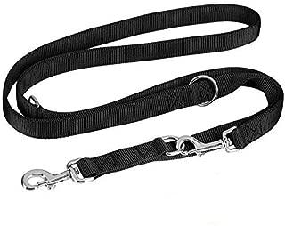 Unknown Leashes - Reflective Stitching Bungee Dog Leash Elastic Walking Training Lead - Trinity Ternary Troika Terzetto Tether Cord Trey Triplet Triad Trio Tierce Trine Ternion Tercet - 1PCs