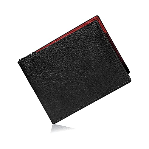 GLEVIO[グレヴィオ] 財布 カード18枚収納 一流の財布職人が作る 二つ折り財布 大容量 折財布