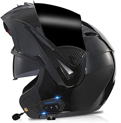 Casco Con Bluetooth Para Motocicleta, Aprobado Por DOT/ECE, Casco Modular Ligero, Cascos De Motocross Para Jóvenes, Hombres Y Mujeres 7,S
