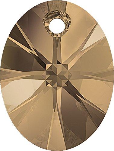 Cristaux de Swarovski 5060513 Pendentifs Cristal 6028 MM 10,0 Crystal Rose Gold, 192 Pièces