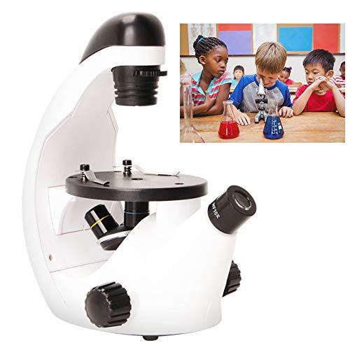 DLMPT 200X (320X,500X) Ampliación Microscopios Monoculares con Adaptador para Teléfono Móvil + Kit Microscopio Biológico con Luz LED,Plastic,500X