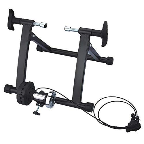 Fietstrainer Training Station Bicycle Indoor Riding Platform Bicycle Fitness Tabel fiets techniek Remote Control Fiets Platform van binnen en buiten (Color : Yellow, Size : One Size)
