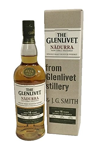 The Glenlivet 16 Years Nadurra Natural Cask Strength 55,7% 0,7l Flasche