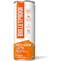 12-Pack 8-Oz Bulletproof Cold Brew Latte Keto Ready to Drink Coffee with MCT Oil (Original Bulletproof Recipe)