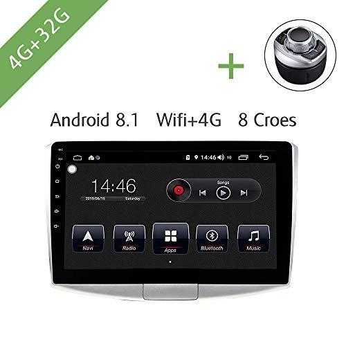 Auto Multimedia Player 1 Din Android 8.1 Auto DVD für VW / Volkswagen Passat B6 / B7 / Magotan / CC 10.1