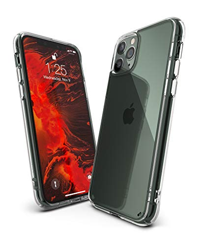 Ringke Fusion Diseñado para Funda Apple iPhone 11 Pro MAX, Transparente al Dorso Carcasa iPhone 11 Pro MAX 6.5' Protección Resistente Impactos TPU + PC Funda para iPhone 11 Pro MAX 2019 - Clear