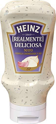 Heinz Mayonesa Cebolla Caramelizada, 395ml