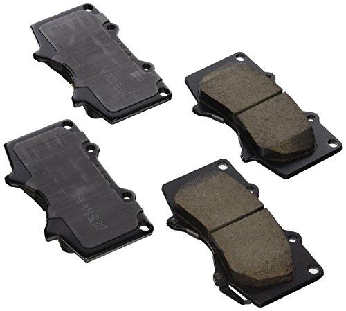 Akebono-ASP976 Ultra Premium Front Brake Pads, GREY