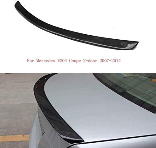 JKBDNB Carbon Fiber Spoiler Performance Heckspoiler Flügel Für Mercedes W204 Coupe 2-Türer 2007–2014